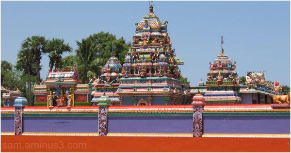 A Temple along East coast road -3