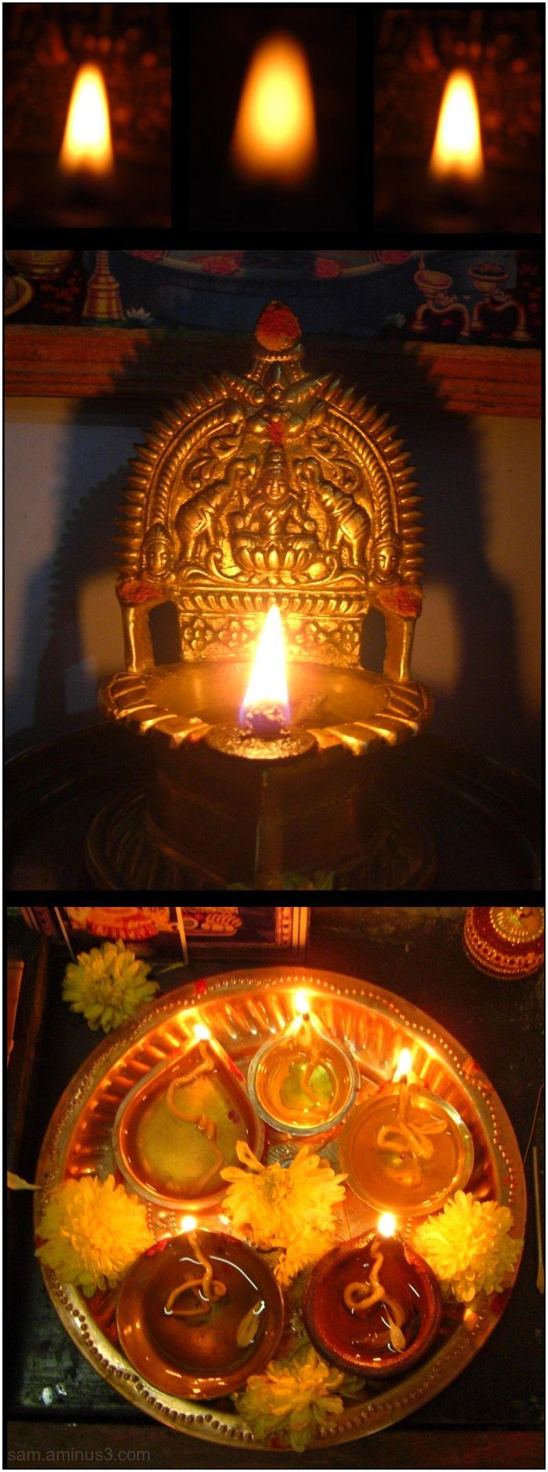 Deepavali Lamps