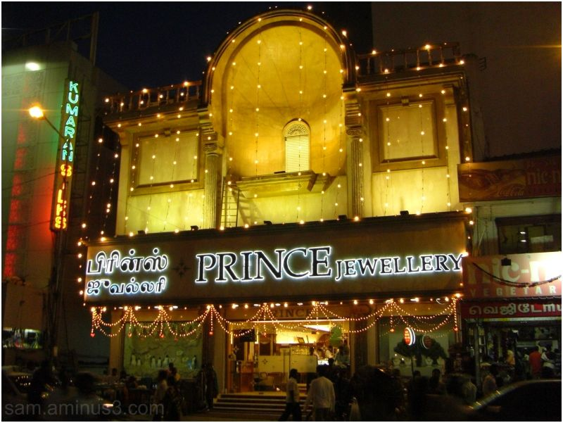 Jewellery Shops in T Nagar Chennai