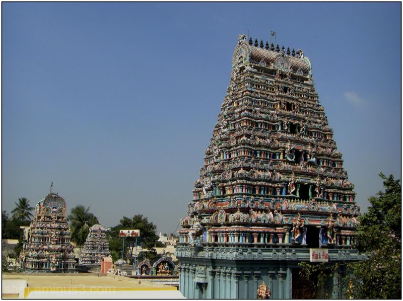 Mambalam Temple Gopurams