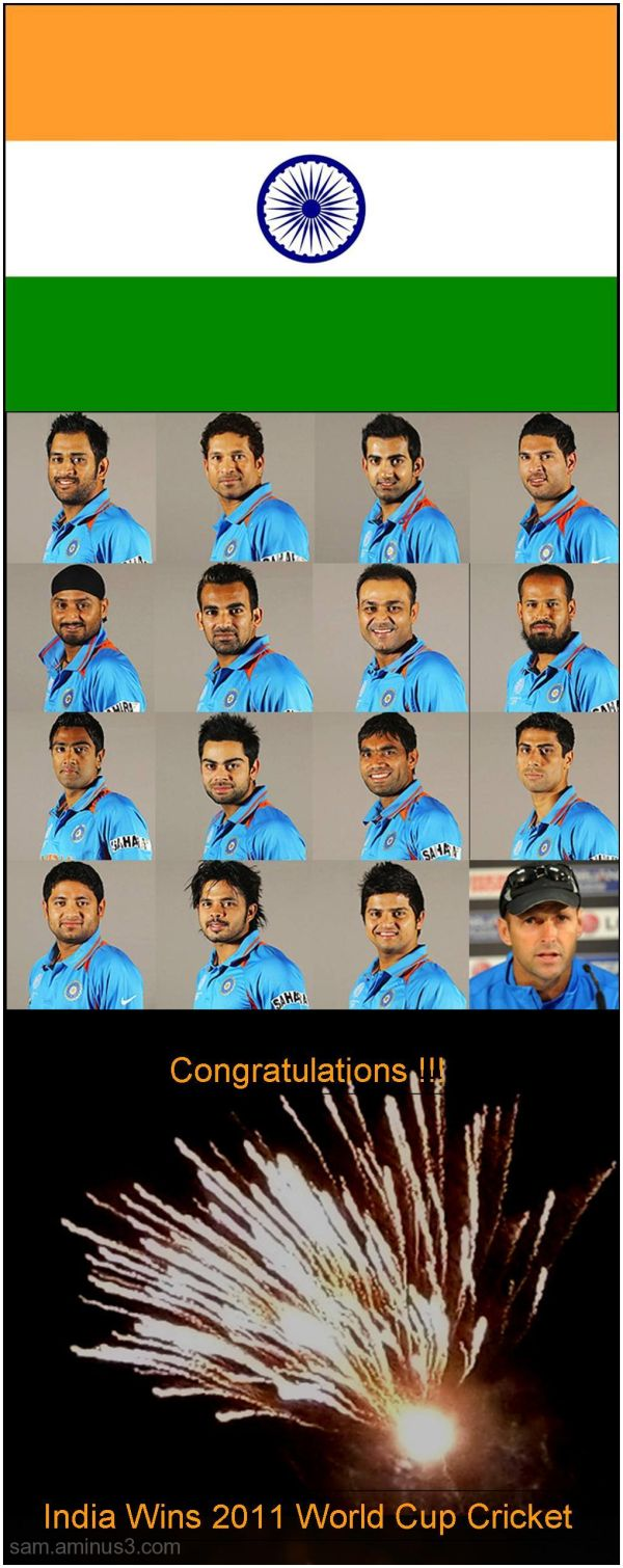 2011 World Cup Cricket