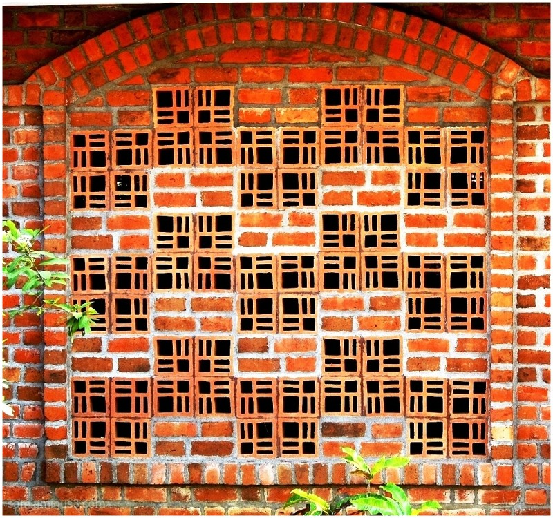 Honeycomb Brick Work : Brick honeycomb works architecture photos kt sambandan