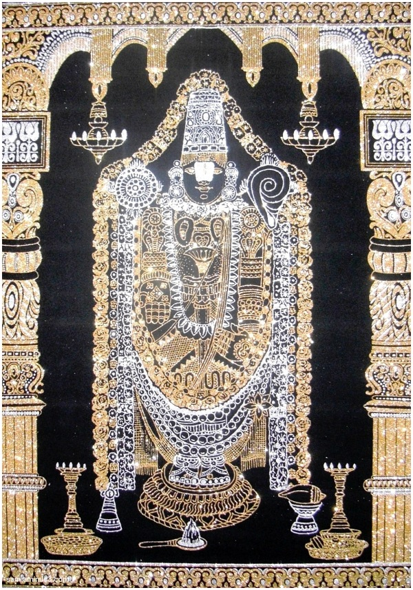 Lord Balaji Silk artwork