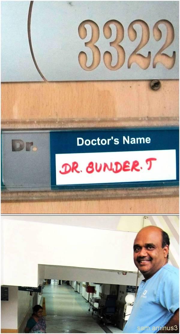 Room 3322 Apollo Hospital Chennai