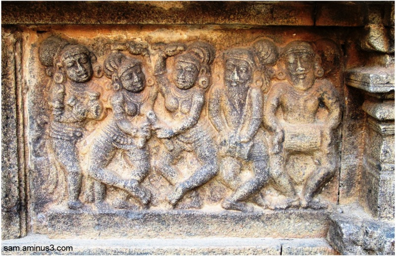 Darasuram temple stone carvings architecture photos