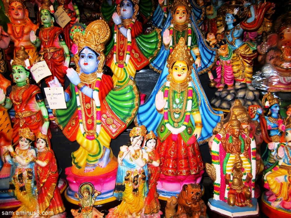 Colourful Dolls