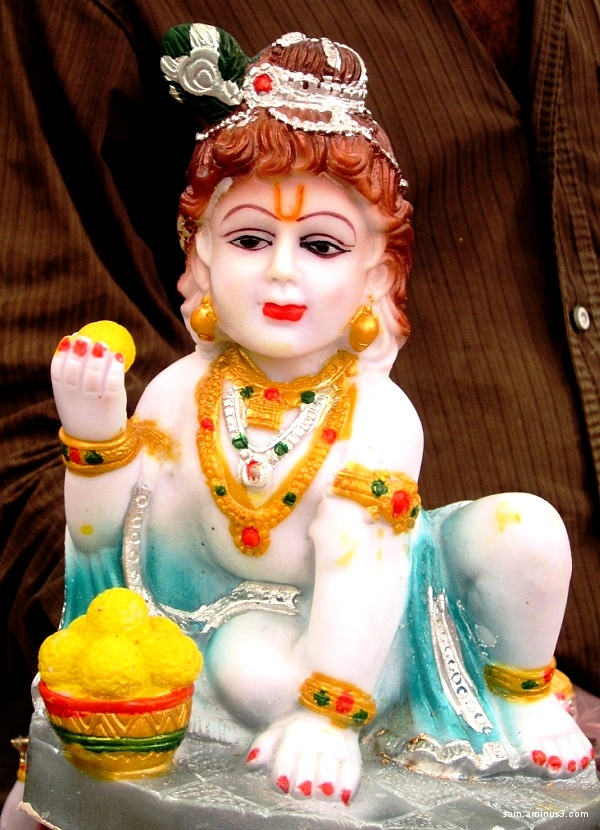 Colourful Dolls Krishna