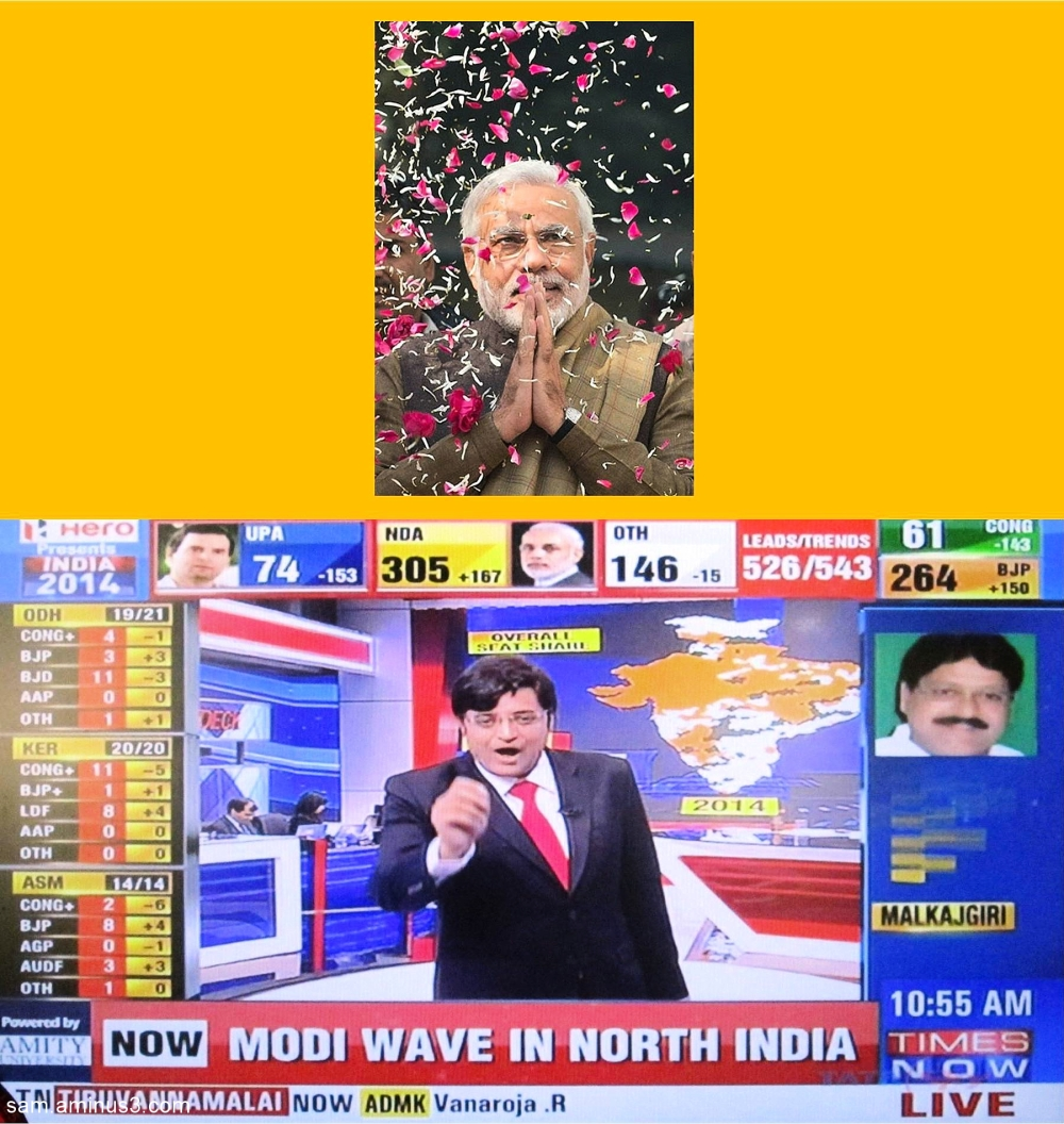 India 2014 Election Results