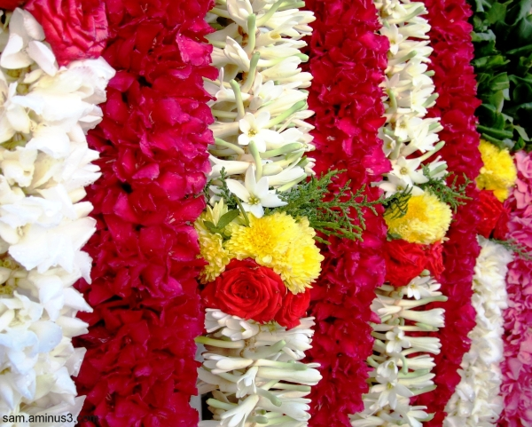 Garlands for Lord Muruga