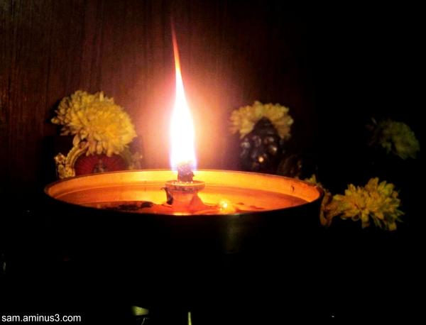 Light in Prayer room
