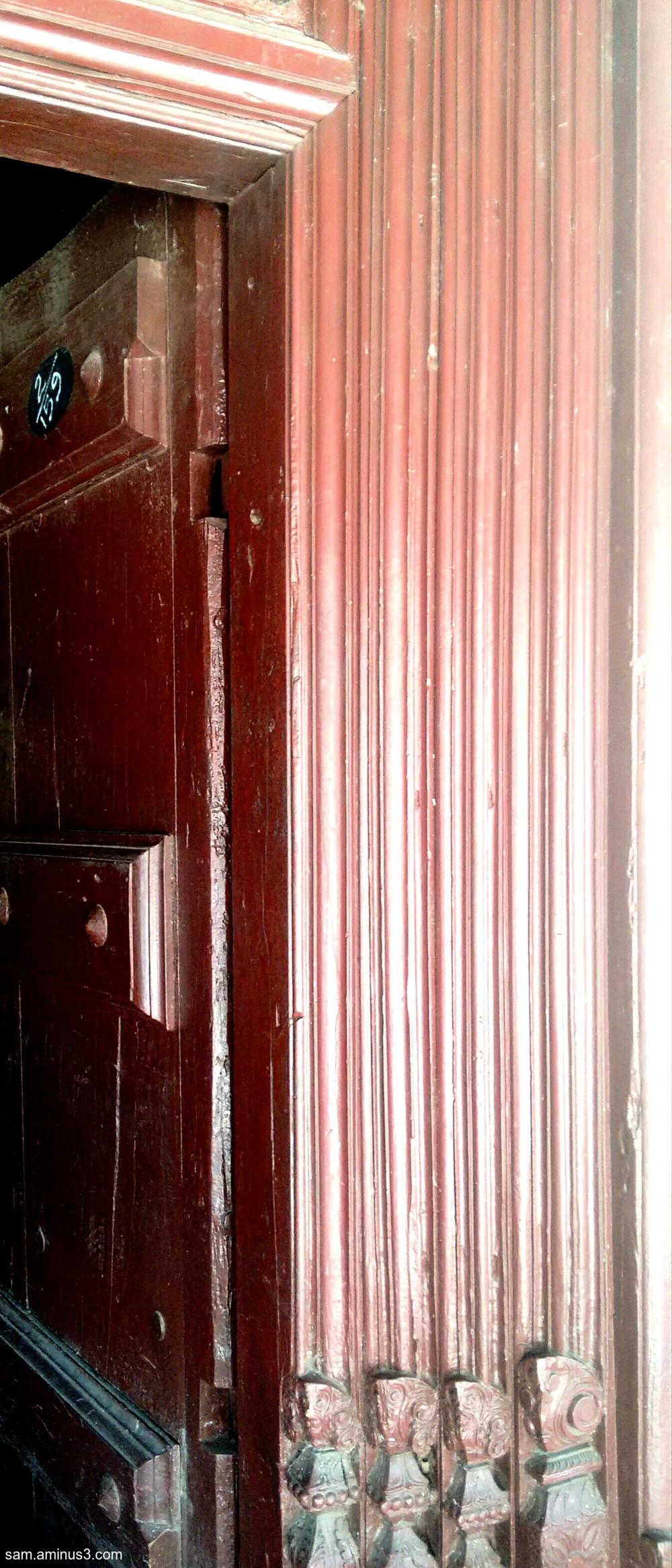 Village House  Door