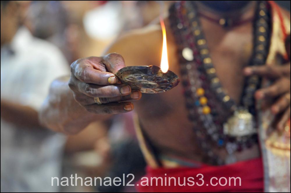 Hand of god...