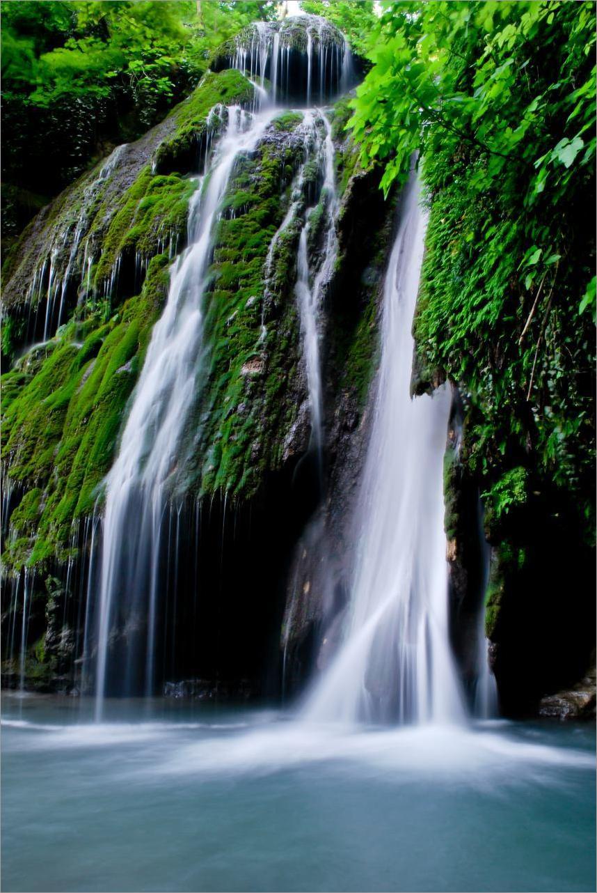 Iran - Golestan - Ali Abad - Waterfall Kaboodval
