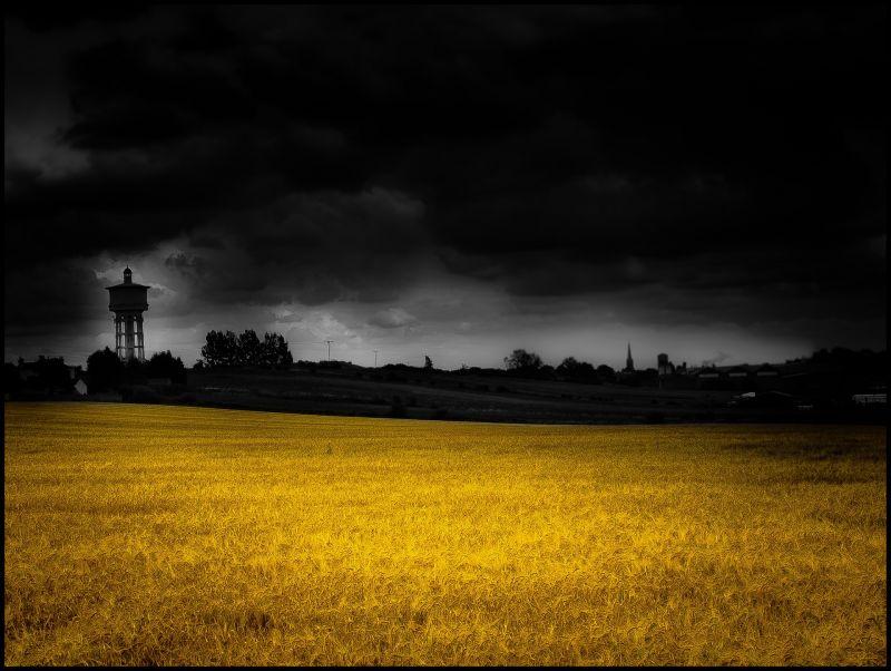 The  Water Tower, Gawthorpe, Ossett