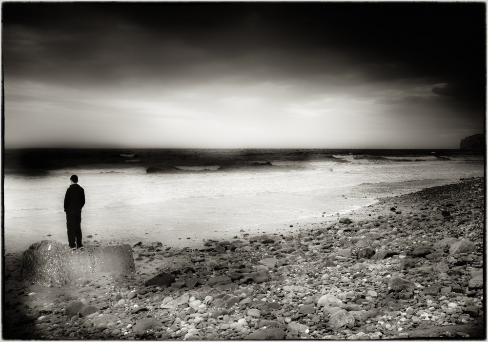 watcher on the shore
