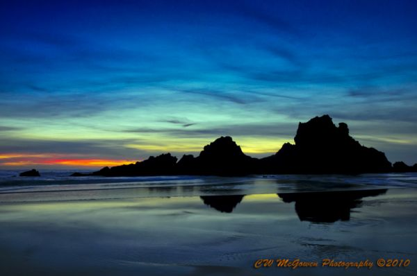 Last Light at Pfeiffer Beach