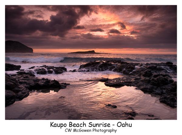 Kaupo Beach Sunrise
