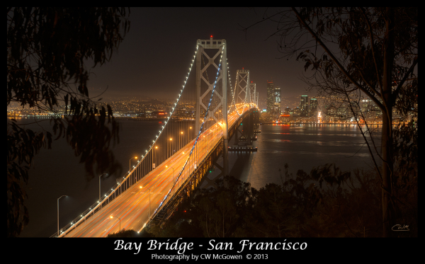 Bay Bridge from Yerba Buena Island