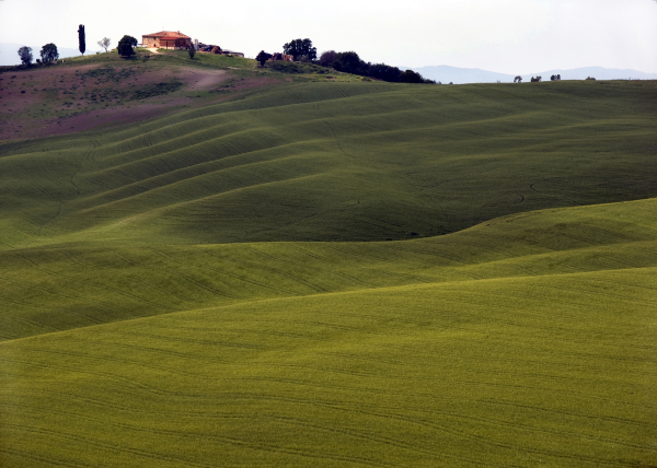 House on a Tuscan Hill