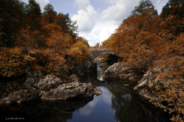 Galloway Forest in Scotland