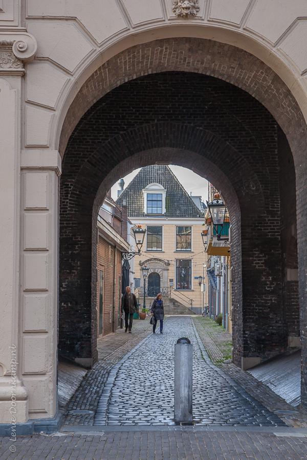 Small street in Kampen