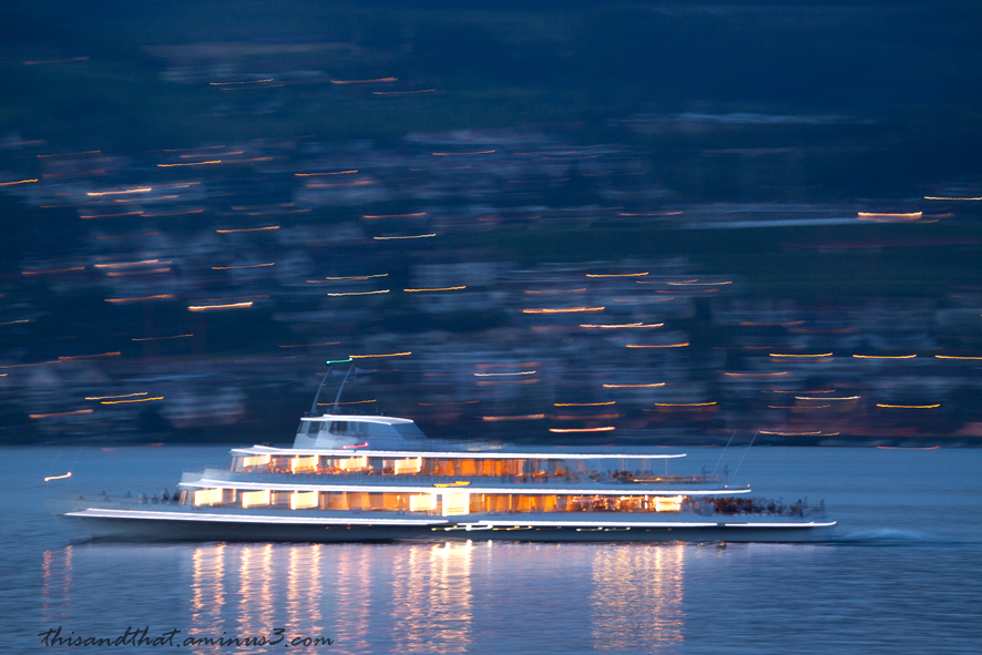 Travelling on Lake Zurich