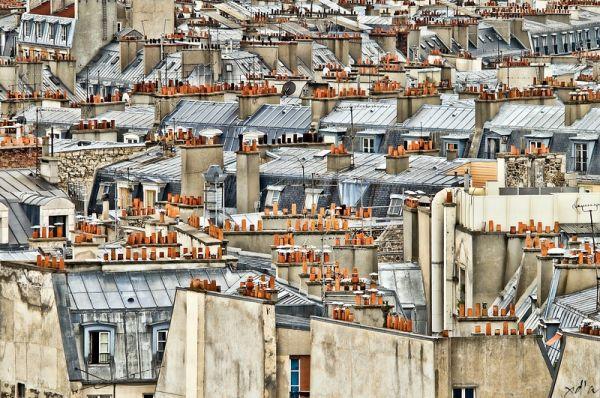 Les toits de Paris depuis le Sacré-Coeur