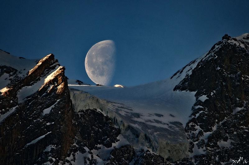 La lune de glace