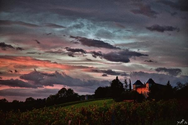 Le château au lever du jour