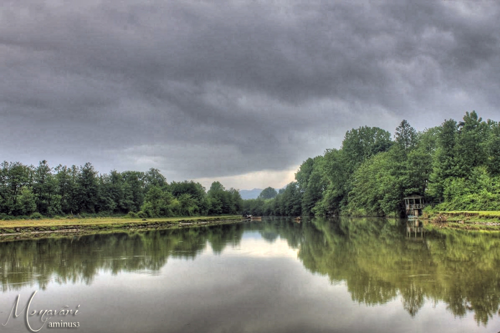 River Reflection HDR