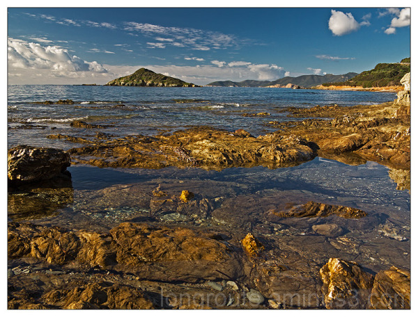 The islet of Campionna, Teulada, Sardinia