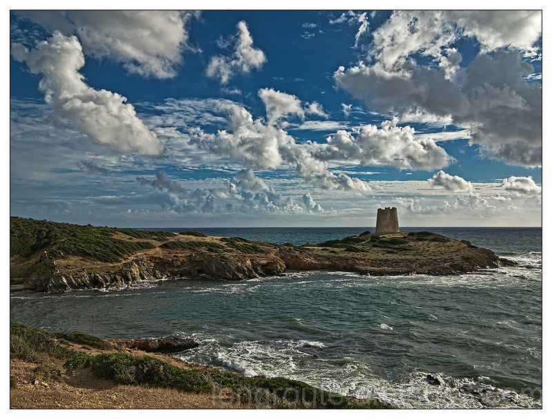 Tower of Piscinni, south-west Sardinia