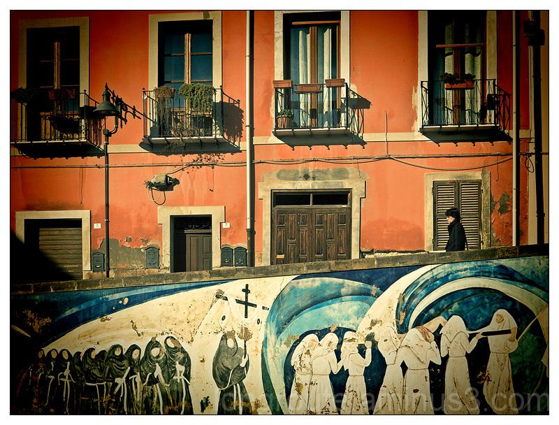 Mural in Cagliari