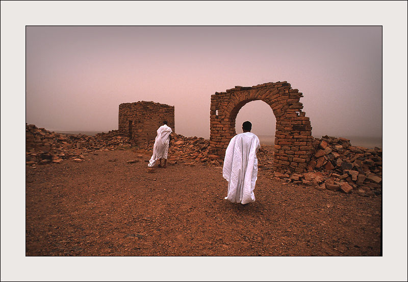 Fort Sagane in Chinguetti, Mauritania