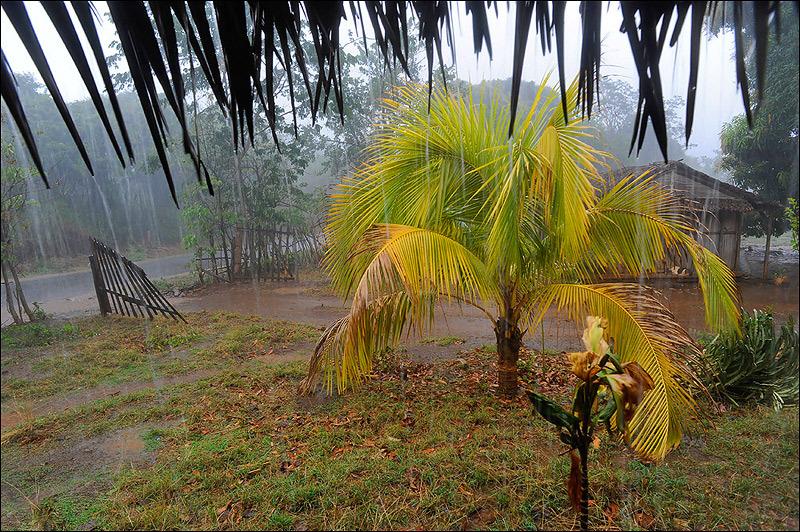 Monsoon day in Madagascar