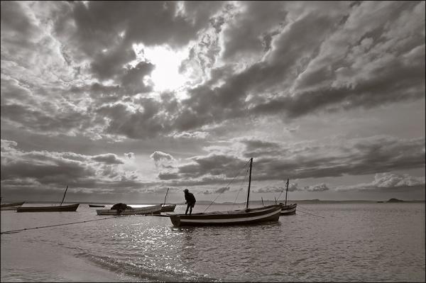 City of Ramena at north of Madagascar