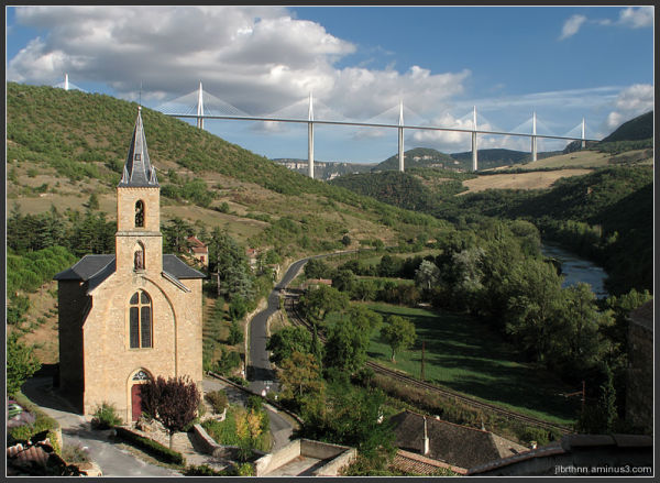 Saint-christophe church, Comprégnac, Aveyron