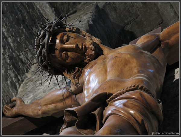 The beautiful christ, Nant, Midi-Pyrénées