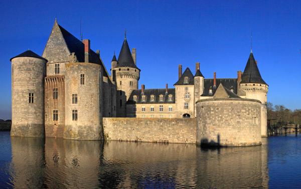 Le château dans toute sa splendeur