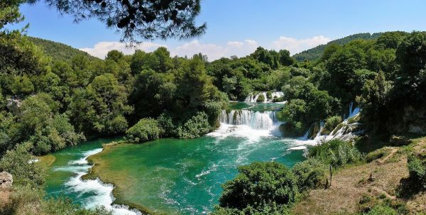 falls of Krka national park Croatia