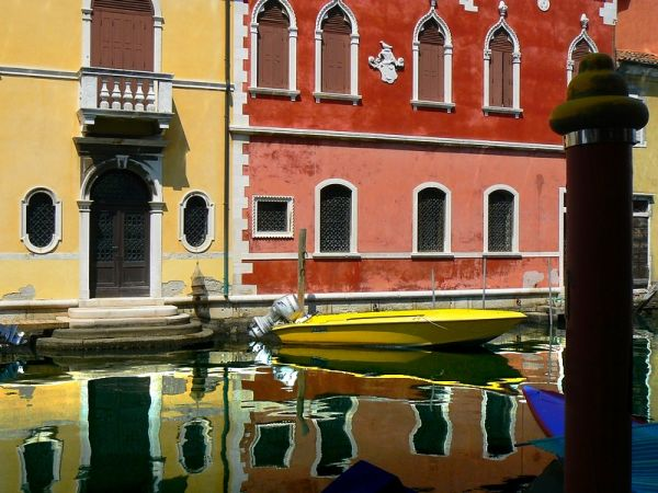 chioggia italy colors