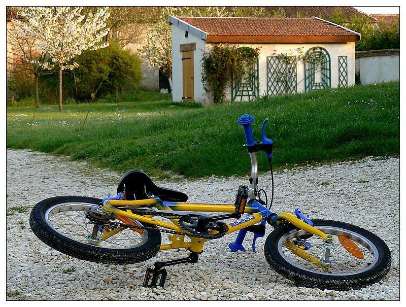 abandonned bike