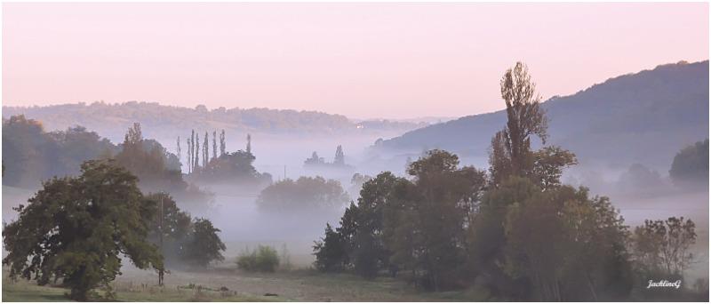 Brouillard dans la vallée ...