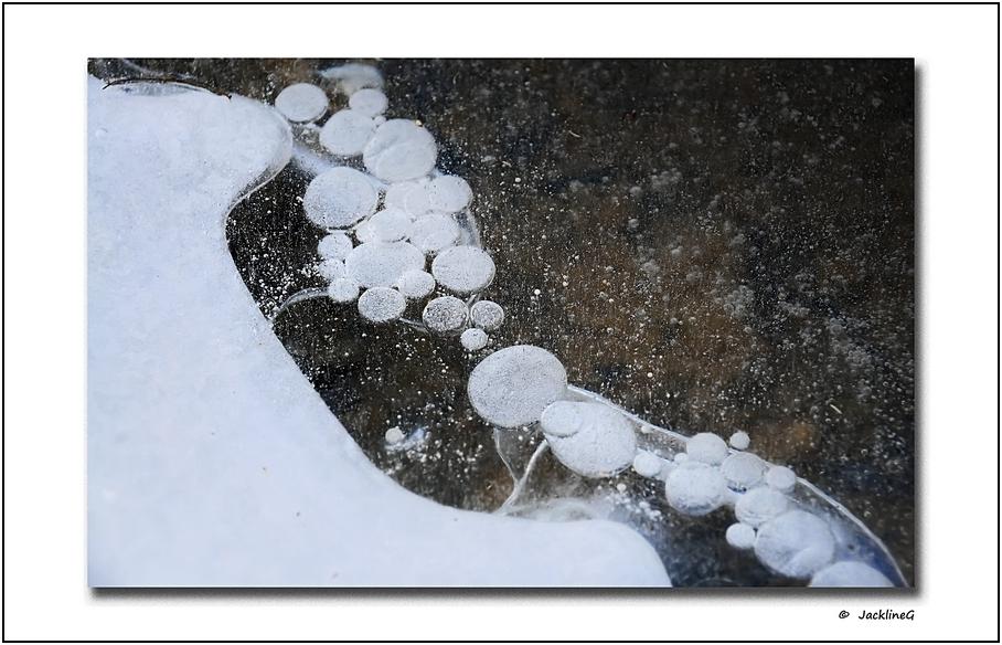 Quand l'hiver coince la bulle ...