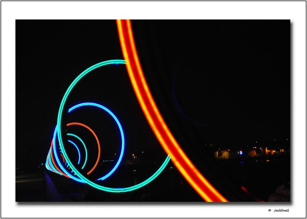 Dans la spirale de lumière ...