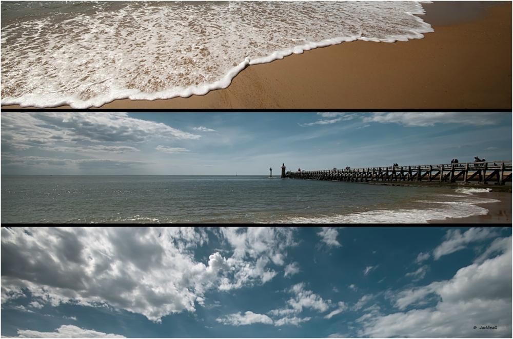 Entre l'eau et le ciel ...