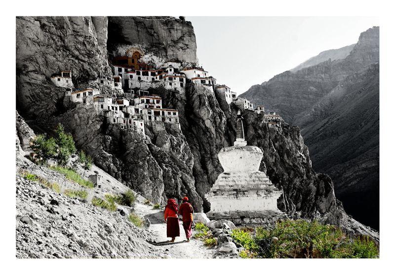 Pukhtal Monastery,