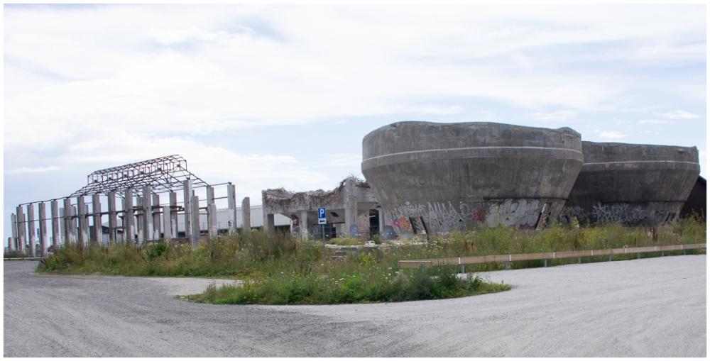 Derelict Cement Factory