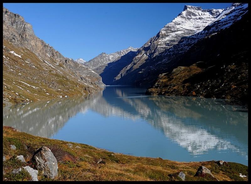 Mauvoisin Fionnay Valais Suisse