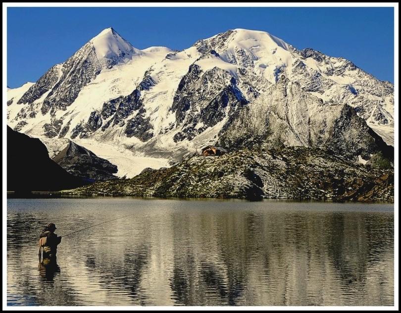 Fionnay Vald de Bagnes Valais Suisse